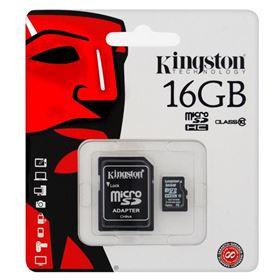 Imagen de MicroSD Kingston 16GB Clase 10