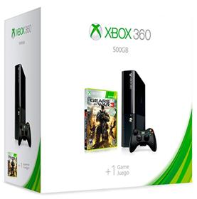 Imagen de XBOX 360 500GB Negro Gears Of War 3 Bundle