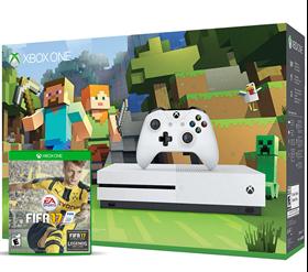 Imagen de Xbox One S 500GB Minecraft + Fifa 2017
