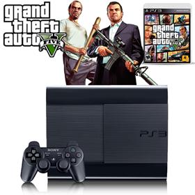 Imagen de Playstation 3 500GB Refurbished + GTA 5