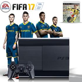 Imagen de Playstation 3 250GB Refurbished + FIFA 2017