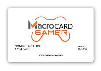 Imagen para la categoría MacroCard Gamer