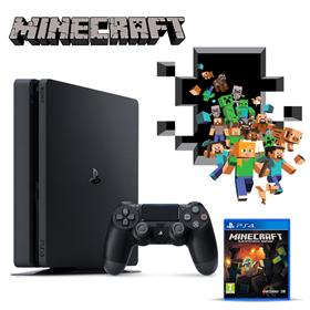 Imagen de PlayStation 4 Slim 1TB + Minecraft