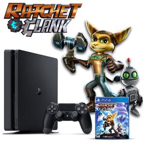 Imagen de PlayStation 4 Slim 1 TB + Ratchet & Clank