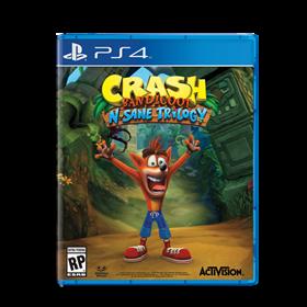 Imagen de Crash Bandicoot: N. Sane Trilogy (Nuevo) PS4