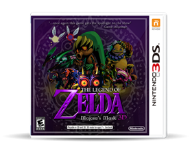 Imagen de The Legend of Zelda Majora´s Mask 3DS