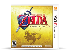 Imagen de Legend of Zelda Ocarina of Time 3DS