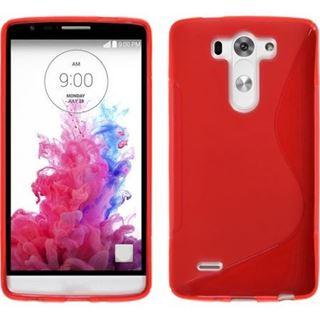 Imagen de TPU LG G3 Rojo