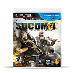 Imagen de SOCOM 4: Navy Seals (Usado) PS3