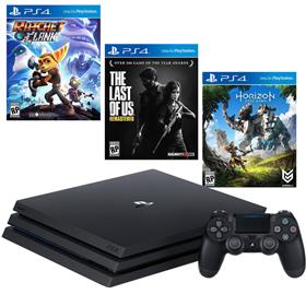 Imagen de PlayStation 4 Pro 1TB + 3 Juegos
