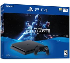 Imagen de PlayStation 4 Slim 1TB Star Wars Battlefront II