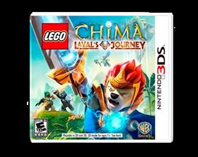 Imagen de LEGO Legends Of Chima Laval's Journey (Nuevo) 3DS