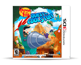 Imagen de Phineas and Ferb: Quest for Cool Stuff (Nuevo) 3DS