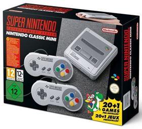Imagen de SNES Mini (Nintendo Super Famicom) versión Europa