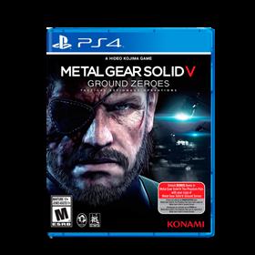 Imagen de Metal Gear Solid V Ground Zeroes (Usado) PS4