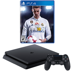 Imagen de PlayStation 4 Slim 500GB + FIFA 18