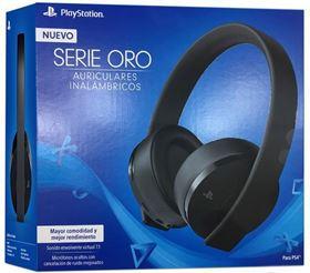 Imagen de Auriculares NEW Gold Playstation 4 inalámbricos