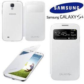 Imagen de Estuche View Cover Original Samsung S4 Blanco
