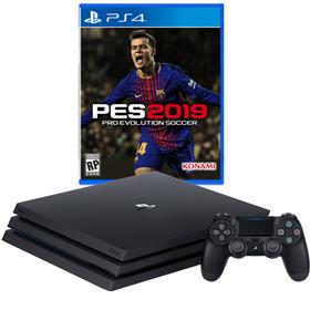 Imagen de PlayStation 4 Pro 1TB + PES 19