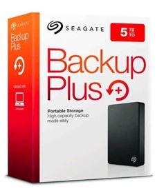 Imagen de Disco Duro Seagate Backup Plus 5TB 3.0