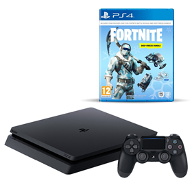 Imagen de PlayStation 4 Slim 1 TB Fortnite Deep Freeze