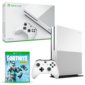 Imagen de Xbox One S 1TB Fortnite Deep Freeze