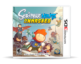 Imagen de Scribblenauts Unmasked A DC Comics Adventure (Nuevo) 3DS