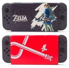 Imagen de Estuche Hibrido + Vidrio protector Nintendo Switch