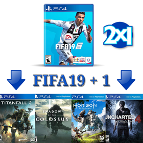 Imagen de OFERTA: FIFA 19 Nuevo PS4 + Otro Nuevo