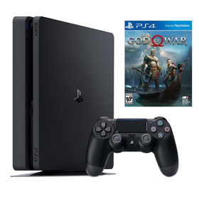 Imagen de PlayStation 4 Slim 1TB + God of War 4