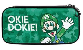 Imagen de Estuche para Nintendo Switch Luigi Camuflado