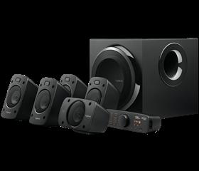Imagen de Parlantes Logitech THX DTS Dolby Surround Sound Z906 5.1