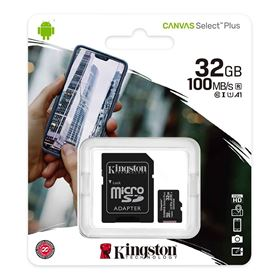 Imagen de Micro SD Kingston 32GB Canvas Select Plus
