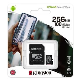 Imagen de Micro SD Kingston 256GB Canvas Select Plus