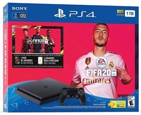 Imagen de PlayStation 4 Slim 1TB + FIFA 20 Español