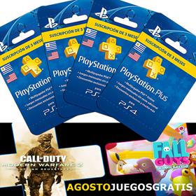 Imagen de PlayStation PS Plus por 12 Meses (4 tarjetas de 3 meses)