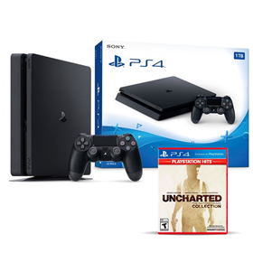 Imagen de PlayStation 4 1TB + Uncharted Collection