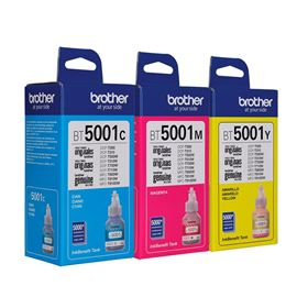 Imagen de Botella de Tinta Color Brother 48.8 ml DCP T310-T510W-T710W