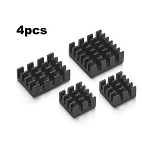 Imagen de Set de 4 Disipadores para Raspberry Pi 4