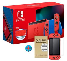 Imagen de Nintendo Switch Red & Blue Ed. Limitada y Estuche